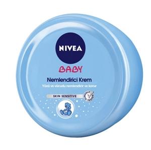 Nivea - Nivea Baby Nemlendirici Bakım Kremi 200mL