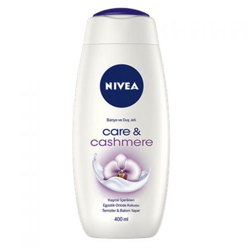 Nivea - Nivea Care&Cashmere Banyo ve Duş Jeli 400 ml