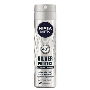 Nivea - Nivea Men Silver Protect Deodorant Sprey 150ml