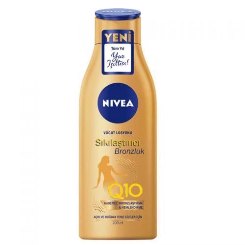 Nivea - Nivea Q10 Sıkılaştırıcı + Bronzluk Vücut Losyonu 200 ml