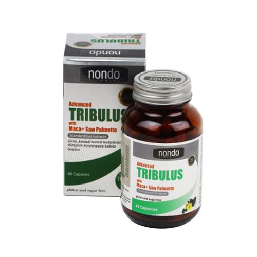 Nondo Vitamins - Nondo Vitamins Advanced Tribulus 60 Kapsül