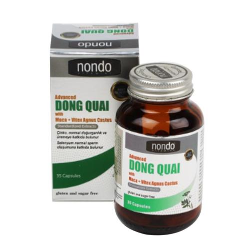 Nondo Vitamins - Nondo Vitamins Dong Quai 35 Kapsül