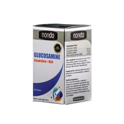 Nondo Vitamins - Nondo Vitamins Glucosamine 60 Tablet