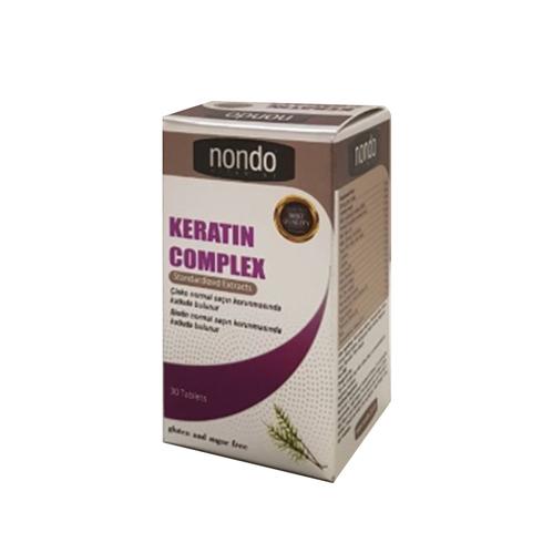 Nondo Vitamins - Nondo Vitamins Keratin Complex 30 Tablet