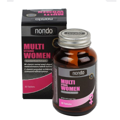 Nondo Vitamins - Nondo Vitamins Multivitamin Women 30 Tablet