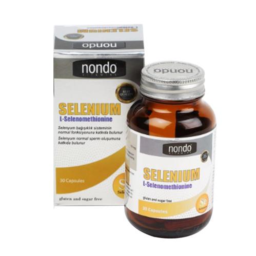 Nondo Vitamins - Nondo Vitamins Selenium 30 Kapsül