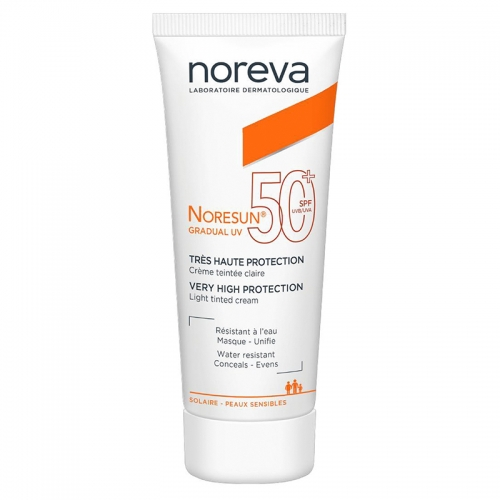 Noreva - Noreva Noresun SPF 50+ Light Tinted Cream 40 ml