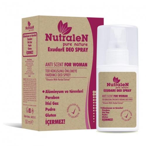 Nutralen - Nutralen ExudaE Deo Spray Anti Scent For Women 50 ml