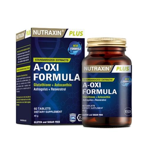 Nutraxin - Nutraxin A-Oxi Formula 60 Kapsül