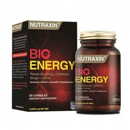 Nutraxin Big Energy Takviye Edici Gıda 60 Tablet