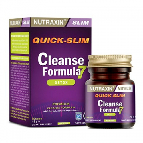 Nutraxin - Nutraxin Cleanse Formula 7 14 Tablet