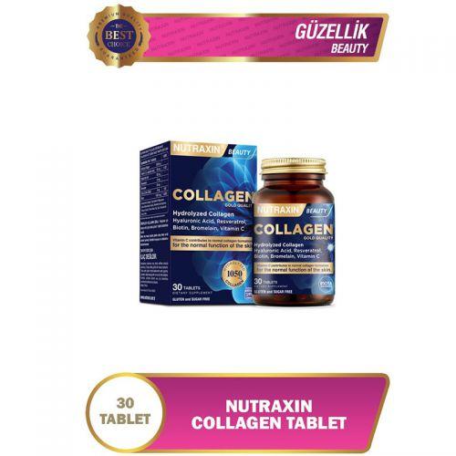Nutraxin Collagen Beauty Takviye Edici Gıda 30 Tablet