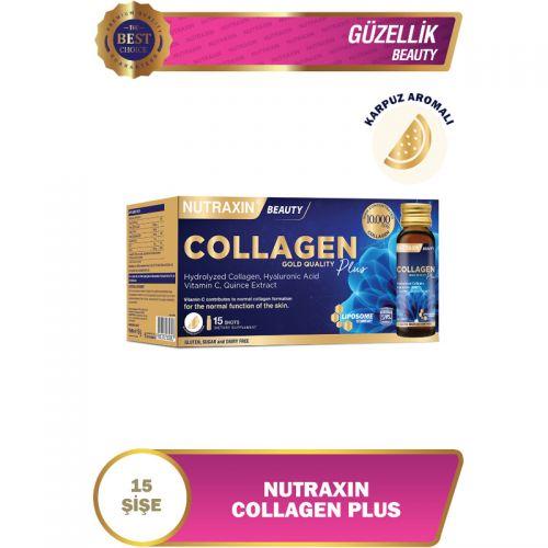 Nutraxin Collagen Plus Takviye Edici Gıda 15 x 50 ml - Karpuz Aromalı