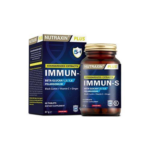 Nutraxin - Nutraxin Immun-S 60 Tablet