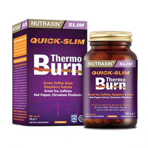 Nutraxin - Nutraxin Quick-Slim Thermo Burn 60 Tablet