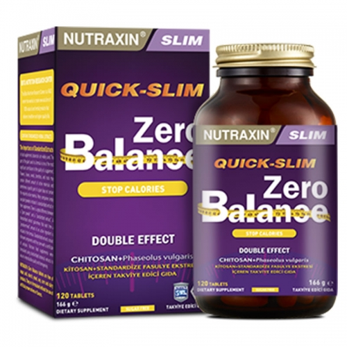 Nutraxin - Nutraxin Zero Balance 120 Tablet