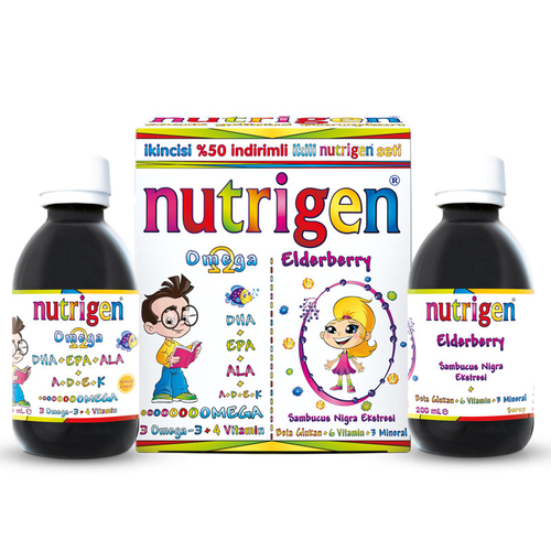Nutrigen - Nutrigen Omega + Elderberry İkili Set