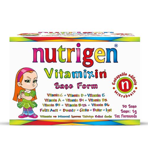 Nutrigen - Nutrigen Vitamixin Saşe Form 30 Şase
