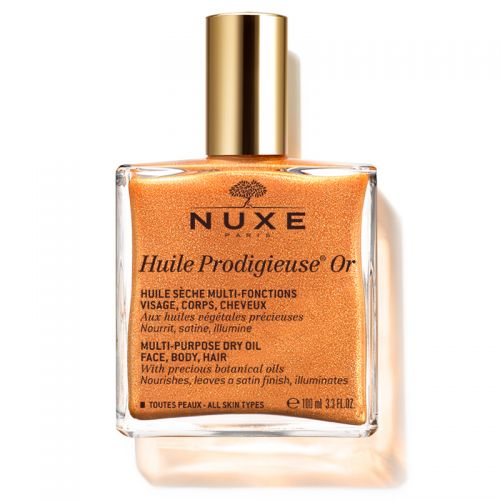 Nuxe - Nuxe Huile Prodigieuse Or Altın Parıltılı Kuru Yağ 100 ml