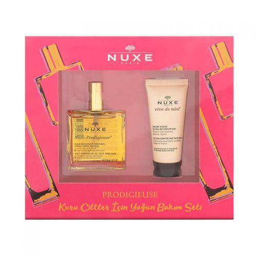 Nuxe - Nuxe Prodigieuse Kuru Ciltler için Yoğun Bakım Seti