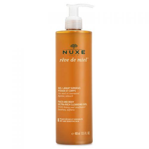 Nuxe - Nuxe Reve De Miel Yüz ve Vücut Yıkama Jeli 400ml