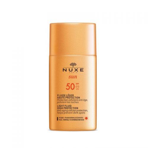 Nuxe Sun Güneş Koruyucu Hafif Dokulu Yüz Kremi SPF 50 50 ml