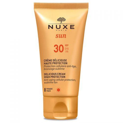 Nuxe - Nuxe Sun Güneş Koruyucu Yüz Kremi Spf 30 50 ml