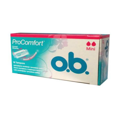 O.B - O.B Pro Comfort Mini Tampon 16 Adet
