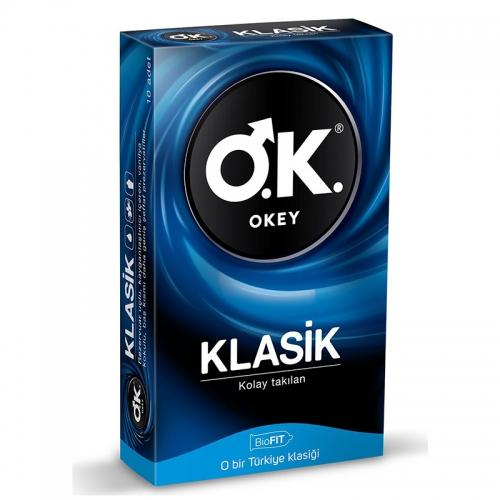 Okey - Okey Klasik Prezervatif 10 adet