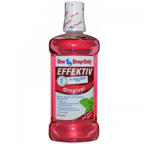 One Drop Only - One Drop Only Gingival Alkolsüz Ağız Gargarası 500 ml