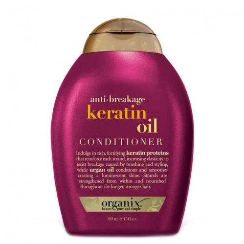 Organix - Organix Keratin Oil Kırılma Karşıtı Saç Bakım Kremi 385ml