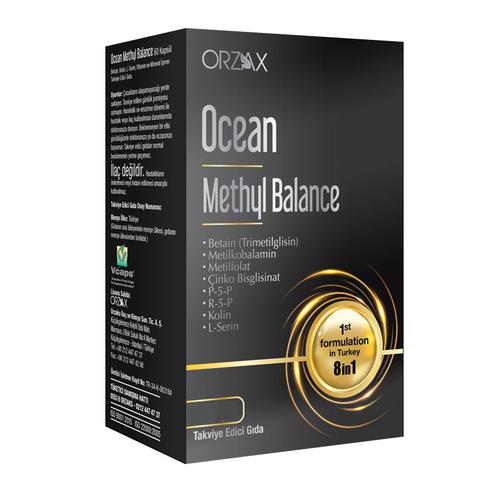 Orzax - Orzax Ocean Methyl Balance Takviye Edici Gıda 30 Kapsül