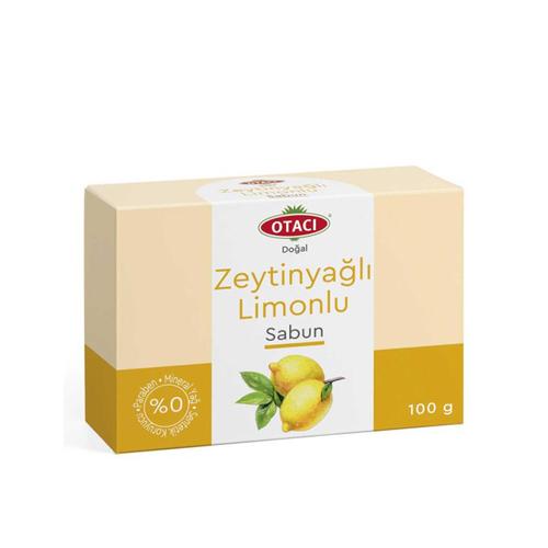 Otacı - Otacı Doğal Limonlu Zeytinyağlı Sabun 100gr