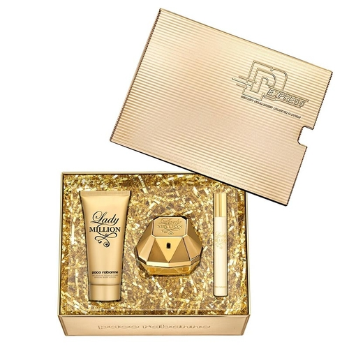 Paco Rabanne - Paco Rabanne Lady Million Edp Kadın Parfüm Seti