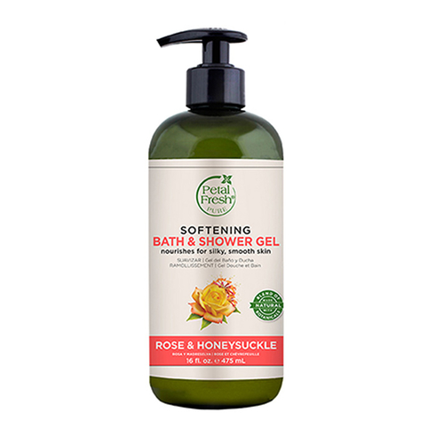 Petal Fresh - Petal Fresh Pure Rose Honeysuckle Bath Shower Gel 475 ml