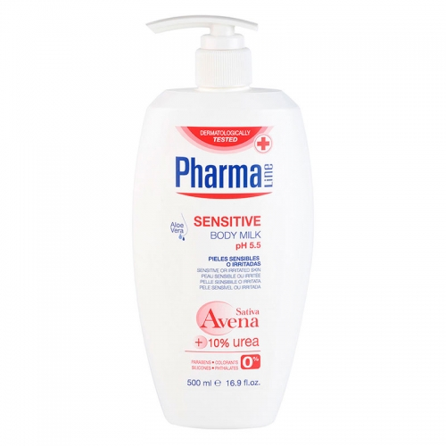Pharma Line - Pharma Line Sensitive Body Milk 500 ml