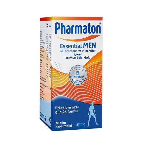 Pharmaton - Pharmaton Essential Men Takviye Edici Gıda 30 Tablet