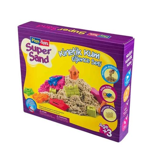 Playtoys - Playtoys Super Sand Kinetik Kum Set