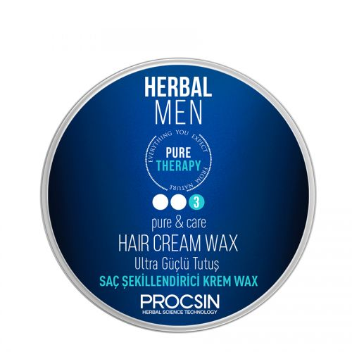 Procsin - Procsin Herbal Men Pure Therapy Ultra Güçlü Krem Wax 50 ml