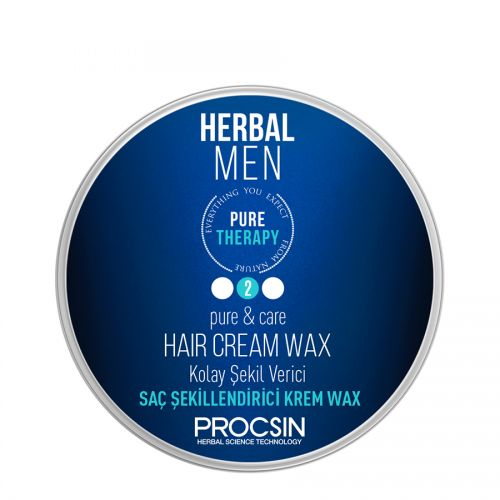 Procsin - Procsin Men Pure Therapy Kolay Saç Şekillendirici Krem Wax 50 ml