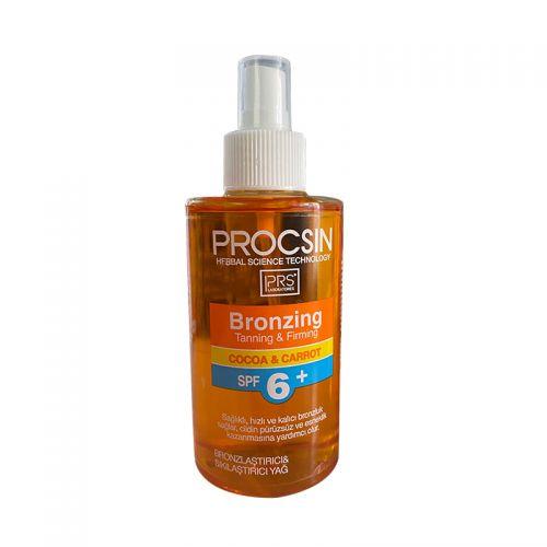 Procsin - Procsin Spf6 Bronzlaştırıcı&Sıkılaştırıcı Yağ 200 ml