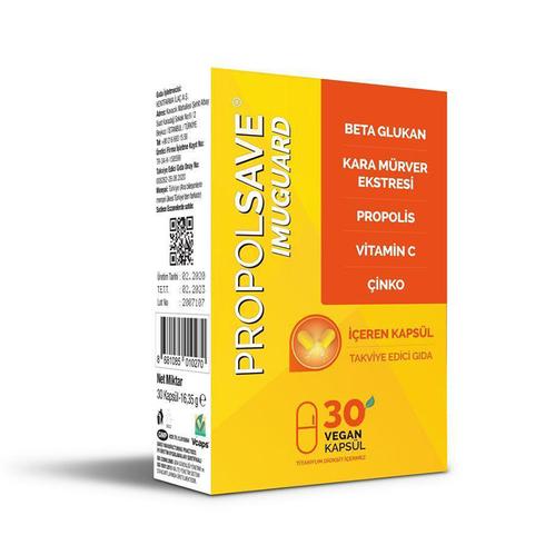 Propolsave - Propolsave Imuguard Takviye Edici Gıda 30 Kapsül