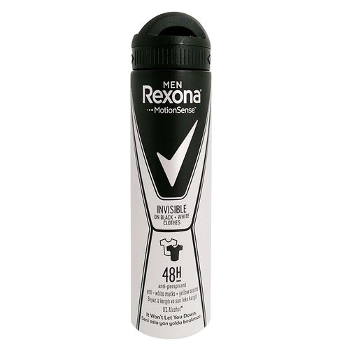Rexona - Rexona Men İnvisible Black-White Deodorant 150ml