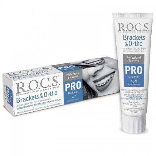 ROCS - ROCS Brackets & Ortho Pro Özel Diş Macunu 100ml