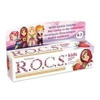 ROCS - ROCS Kids 4-7 Yaş Meyveli Çocuk Diş Macunu 35ml (Ahududulu-Çilekli)