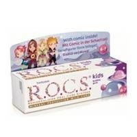 ROCS - ROCS Kids 4-7 Yaş Meyveli Çocuk Diş Macunu (Balon Sakızı) 35ml.