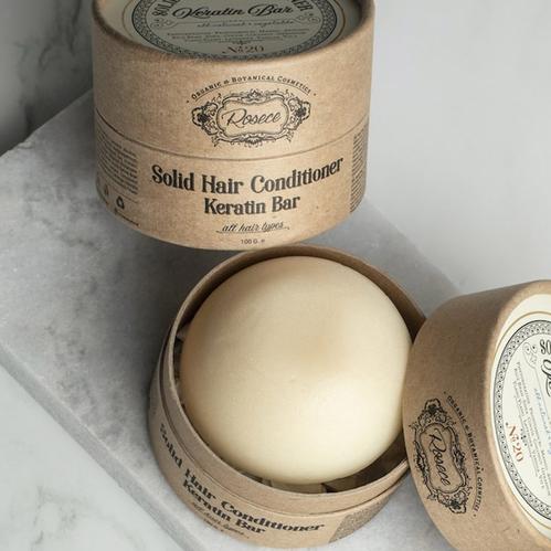 Rosece - Rosece Solid Hair Conditioner Keratin Bar 100 gr