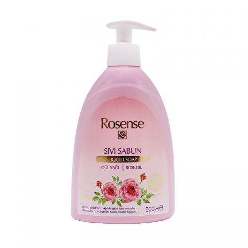 Rosense - Rosense Gül Yağı Sıvı Sabun 500 ml
