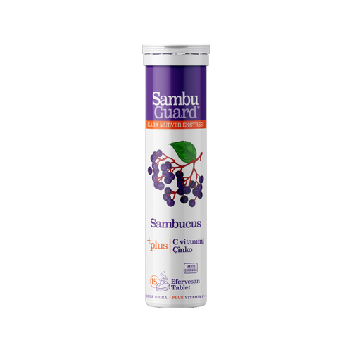 Bigjoy Vitamins - Sambu Guard Sambucus Plus+ 15 Efervesan Tablet