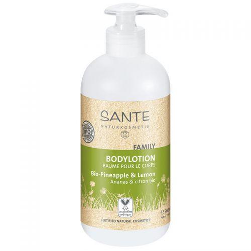 Sante - Sante Aile Vücut Losyonu Organik Ananas & Limon Özlü 500ml